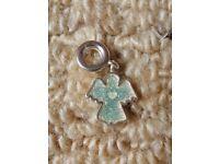 Pandora Barrel Clasp Bracelet Angel with Heart Charm Gift Idea Christmas Birthday