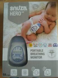 New Snuza Hero Portable Baby Breathing monitor