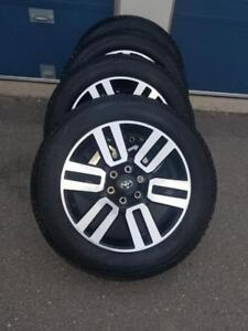 BRAND NEW TAKE OFF FACTORY OEM  TOYOTA 4 RUNNER 20 INCH ALLOY WHEELS WITH HIGH PERFORMANCE YOKOHAMA  245 / 60 / 20 TIRES