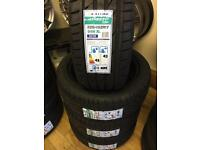 New 125/45/17 tyres