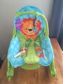 Fisher price baby to toddler rocker