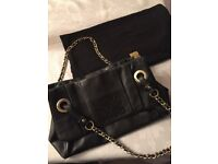 Biba leather handbag