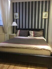 One medium size bedroom furnished