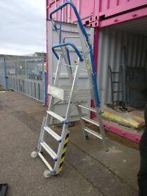 Professional adjustable platform steps/ladders