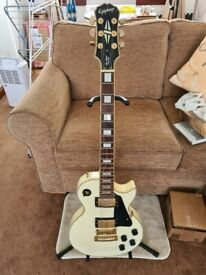 Epiphone Les Paul Custom 'Alpine White'