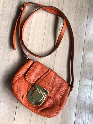 Michael Kors Crossbody Orange Handbag