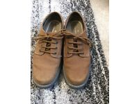 Brown suede men's M&S shoes