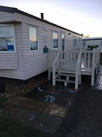 3 bedroomed caravan butlins skegness