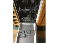 Gorenje Intregrated Slimline Dishwasher.