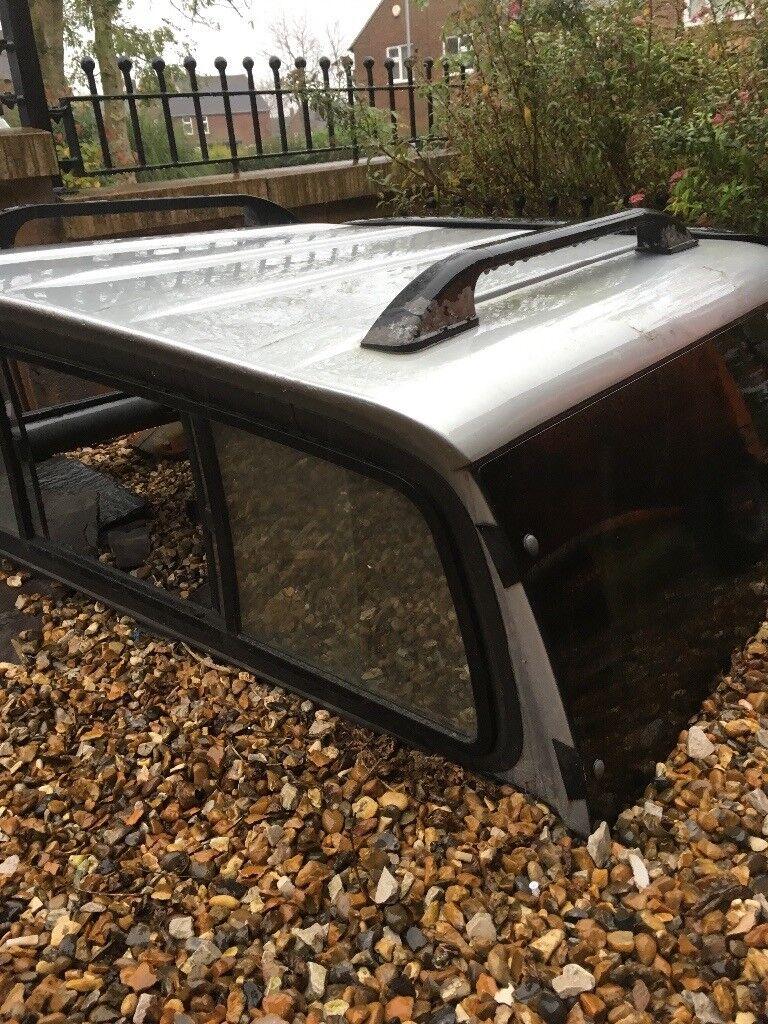 Mitsubishi L200 silver cab with privacy windows