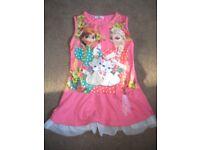 Girls ELSA Dresses 7-8 Years