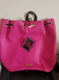 Juicy couture back pack/holiday bag
