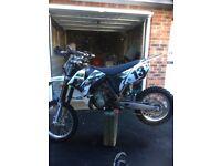 Ktm 85 2008 swap for 125