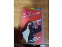 Donna Summer - A Hot Summer Night Video (VHS)