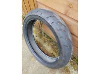Bridgestone S20 F part worn tyre.