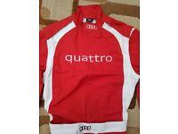 Audi Quattro Sport racing suit