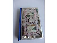 New Testament with Mother of Pearl Outer Covers