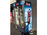 PEPSI DRINKS CHILLER REFRIGRATION IN EXCELLENT CONDITION NOT HAD LONG NEW SHOP FRONT DELIVER