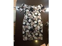 New Look - Size 12 - Off the Shoulder Floral Dress