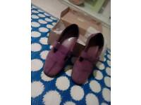 Ladies ultra comfortable work shoes Hotter size 7
