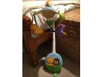Fisher price wind up jungle mobile