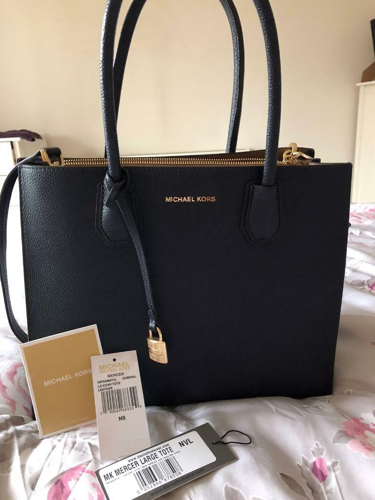 cheaper classic style official photos Fake Michael Kors Black Tote Bag