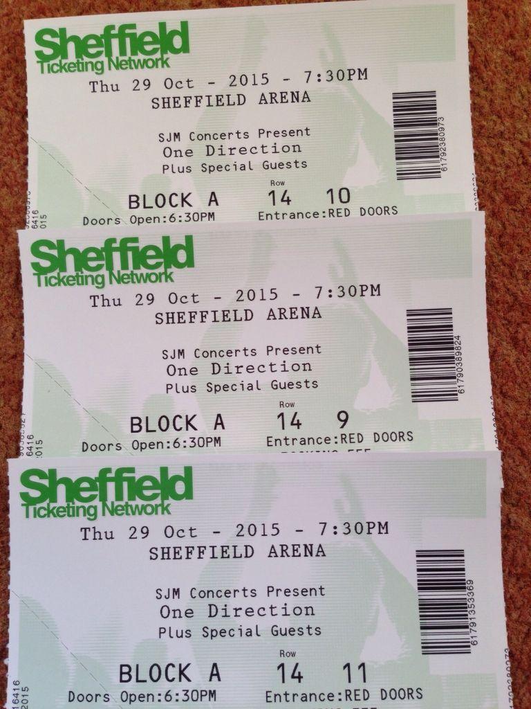 Vip one direction tickets blocka row 14 amazing tickets in vip one direction tickets blocka row 14 amazing tickets m4hsunfo