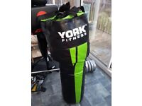 York Fitness Tethered Upper Cut Punch Bag 4ft