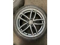 Alloys Audi winter tyres Michelin