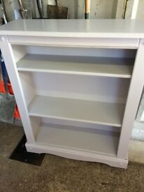 Solid Oak painted book case