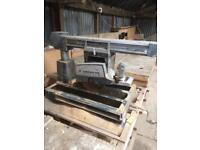 """10"""" crosscut radial electric saw"""