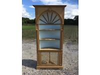 Solid pine bookcase. Free delivery