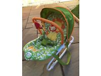 Tess Toys - Mothercare My Jungle Family Bouncer in Unisex Colours in excellent condition £18 ONO