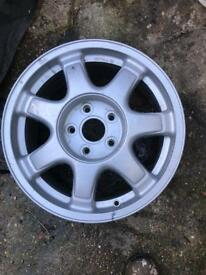Lexus 7 spoke alloy wheel in good useable condition toyota