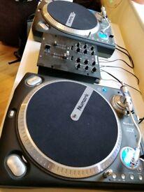 Numark TTX x2 Direct Drive vinyl turntables