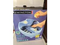 Remington foot spa, bnib, never used, great condition.