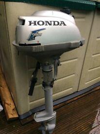 Honda 2.3 hp short shaft outboard engine