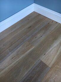 Super sale on 148x14mm engineered smoked oak flooring