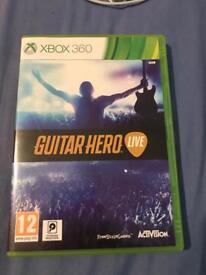 Guitar hero Xbox 360 £13