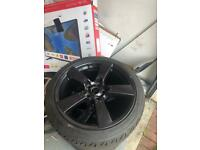 18 inch alloy wheels / tyres