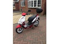 Yamaha CS50 Moped 1,268 miles