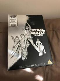 Star Wars Trilogy excellent condition 4 discs