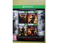 Gears of war 1,2,3 and Judgement for Xbox 360 xbox one