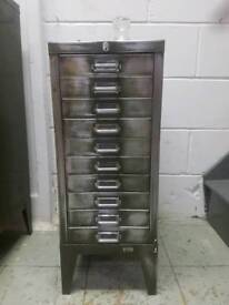1950S VINTAGE SMALL FILING CABINET