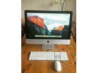 Apple iMac 21.5' 3.06Ghz Core i3 8GB Ram 500GB HDD Logic Pro X Ableton 9 Reason Pro Tools 10 Waves