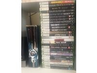 Halo 4 Limited Edition Xbox 360 320GB console MASSIVE BUNDLE QUICK SALE