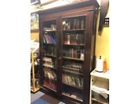 Italian antique book shelf