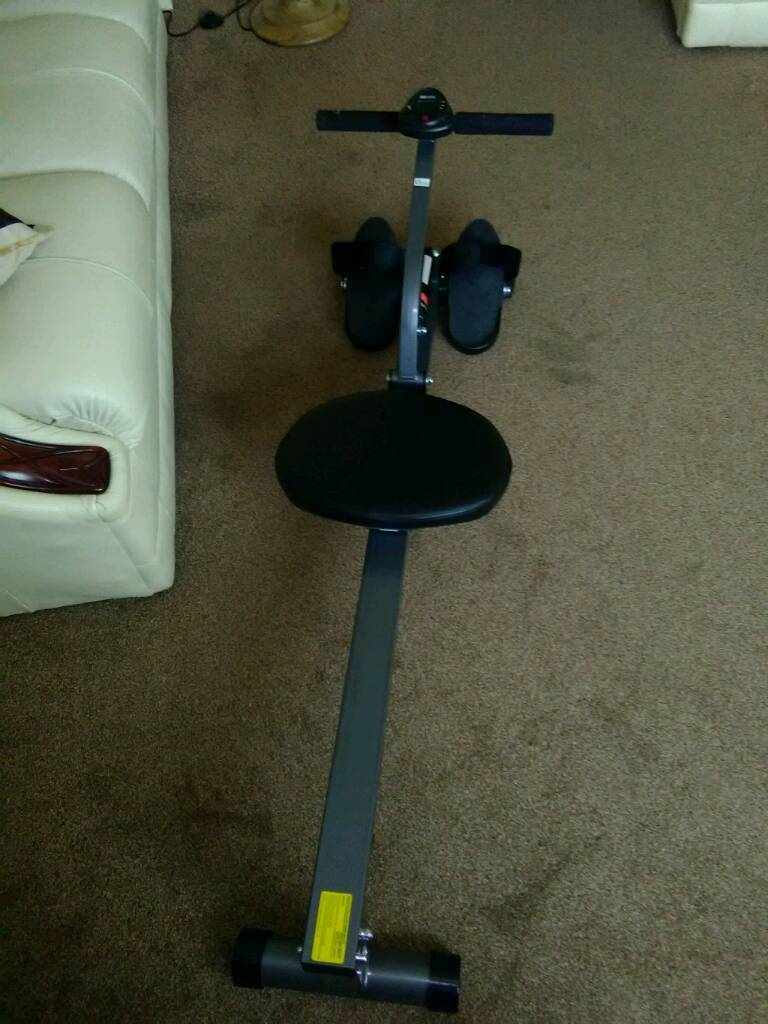 For sale,rowing machinein Llantwit Major, Vale of GlamorganGumtree - Rowing machine with stroke counter and time indicated
