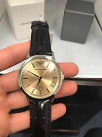 Men's Armani Watch Brand New Boxed