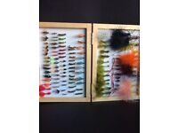 FLY FISHING FLIES , STILLWATER BRAND, BOXED 222 FLIES
